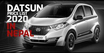 datsun cars price list 2020 in Nepal