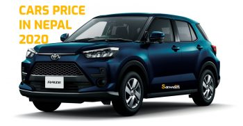 toyota car price in Nepal 2020